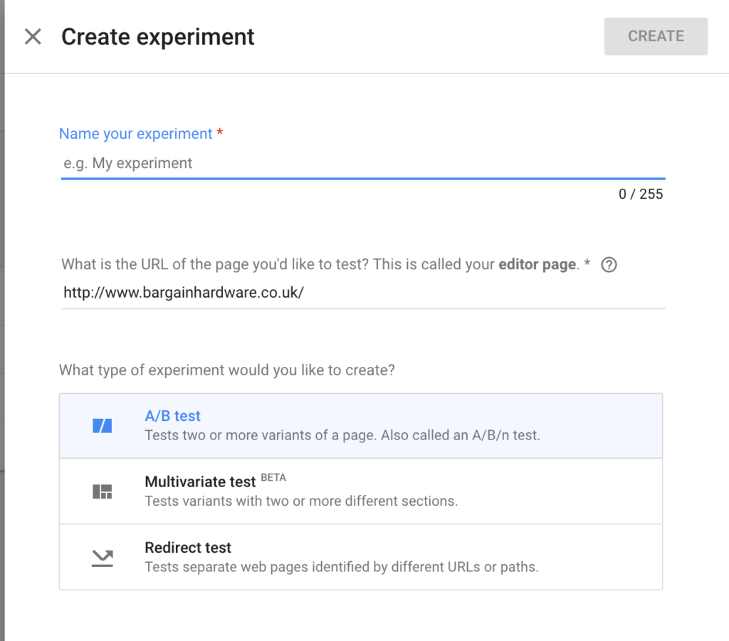 Google Optimize 5 A/B Testing Tools for Making Data-driven Design Decisions — SitePoint - 1513899959google optimize 1024x900 - 5 A/B Testing Tools for Making Data-driven Design Decisions — SitePoint