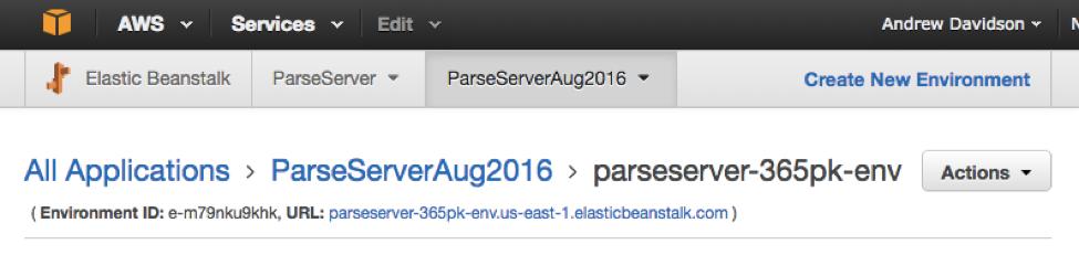 Setting the SERVER_URL