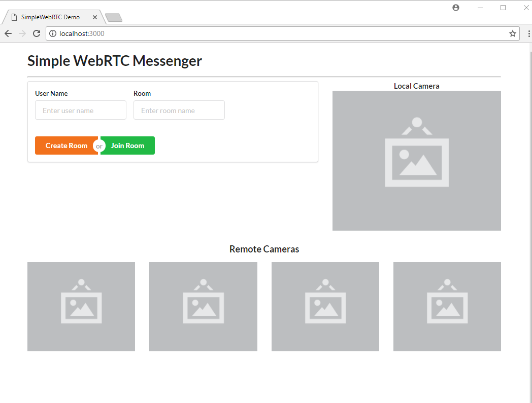 Building a WebRTC Video Chat Application with SimpleWebRTC
