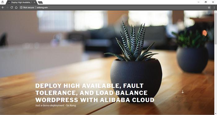 - 1525146959789b5ed4924d2720f8f9f6612a0a36a6dab6b480 - Deploy Fault Tolerant, Load Balanced Web Apps on Alibaba Cloud — SitePoint