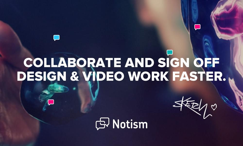 Notism — Design & Video Collaboration for Teams  - 15311136187 - 29 Awesome Tools for Web Designers & Developers — SitePoint