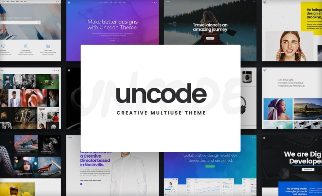 Uncode - You Deserve a Stunning Website  - 153111373111 - 29 Awesome Tools for Web Designers & Developers — SitePoint