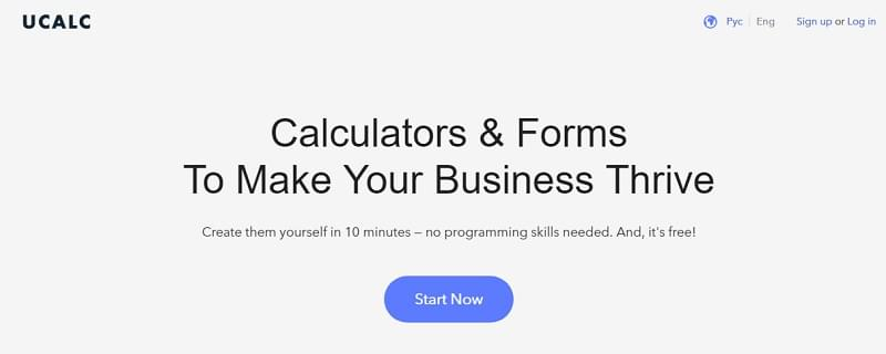 uCalc  - 153111387917 - 29 Awesome Tools for Web Designers & Developers — SitePoint
