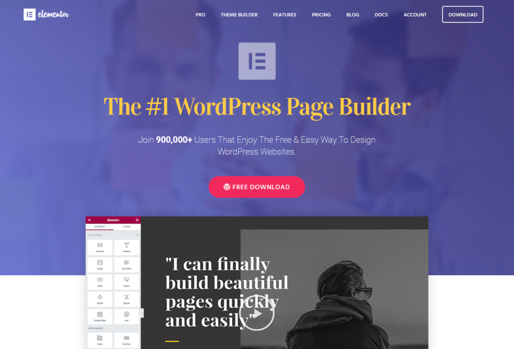 Elementor  - 153111396221 - 29 Awesome Tools for Web Designers & Developers — SitePoint