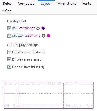 Customizing Layout section output