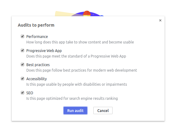 Chrome audits