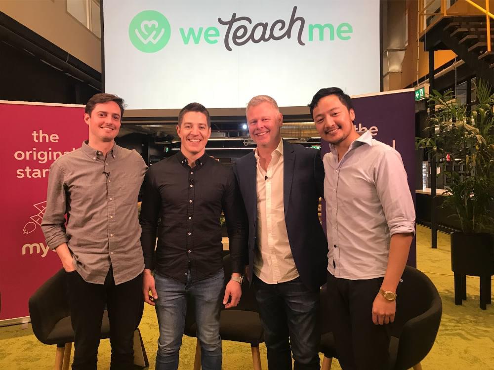 Recruiting: Joe Woodham with the WeTeachMe team