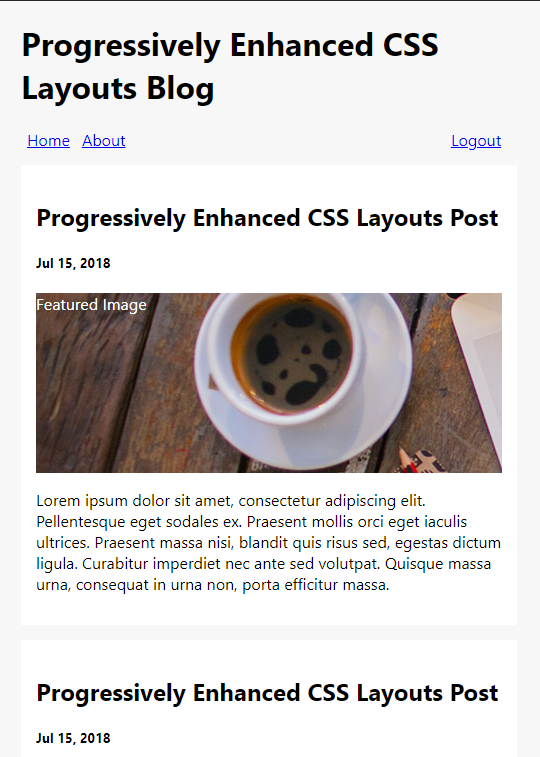 Progressively Enhanced CSS Layouts: Floats to Flexbox & Grid — SitePoint