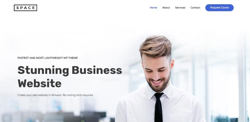 The 8 best wordpress themes for small business websites sitepoint astra is fast fully customizable and one of the best wordpress themes for business websites as well as for blogs and personal portfolios cheaphphosting Image collections