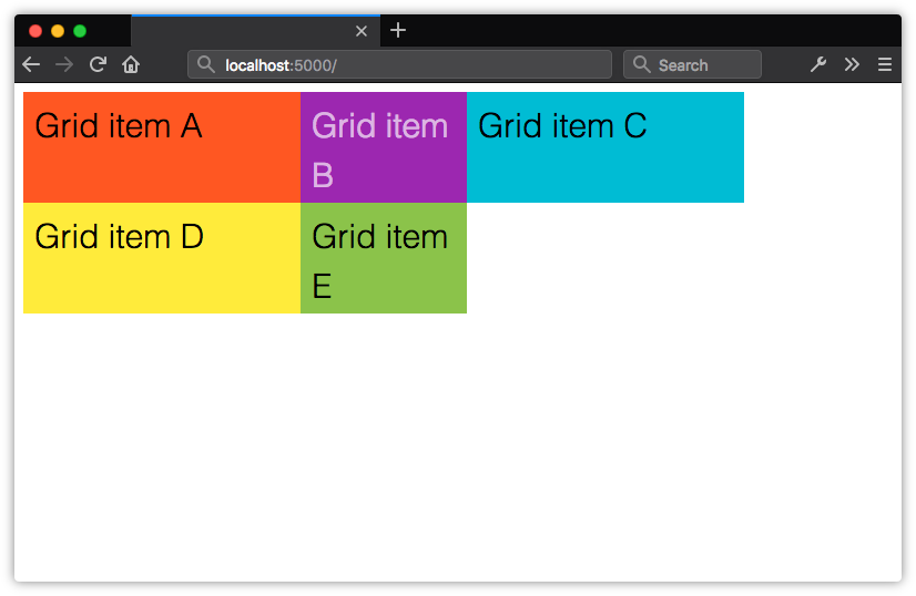 Grid columns and rows don't have to be the same width