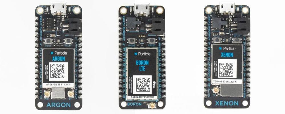 Particle Mesh's Argon, Boron and Xenon boards