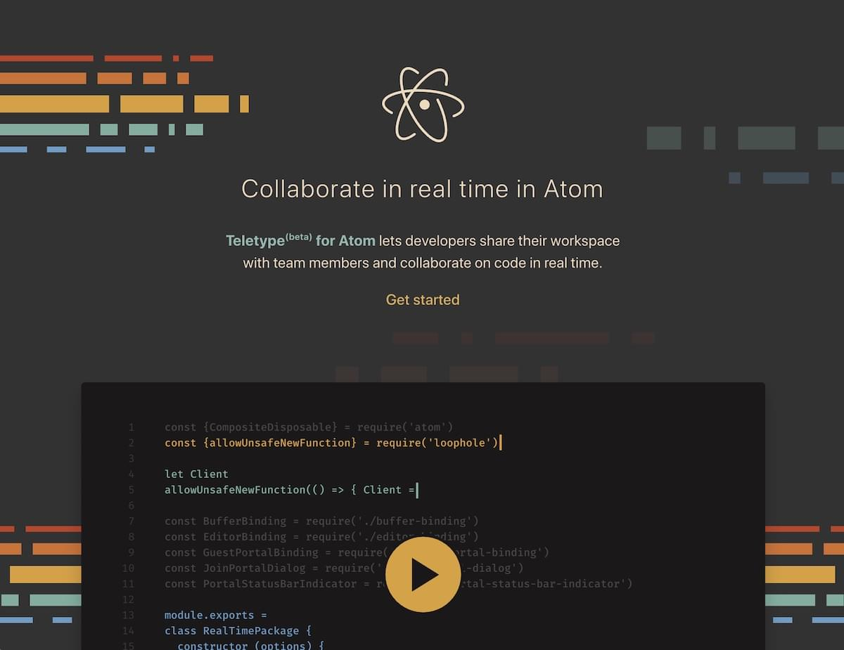Teletype for Atom