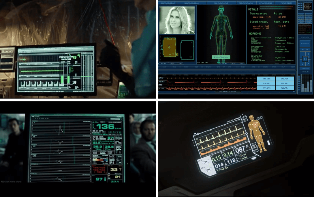 Bio monitor in Luke Cage