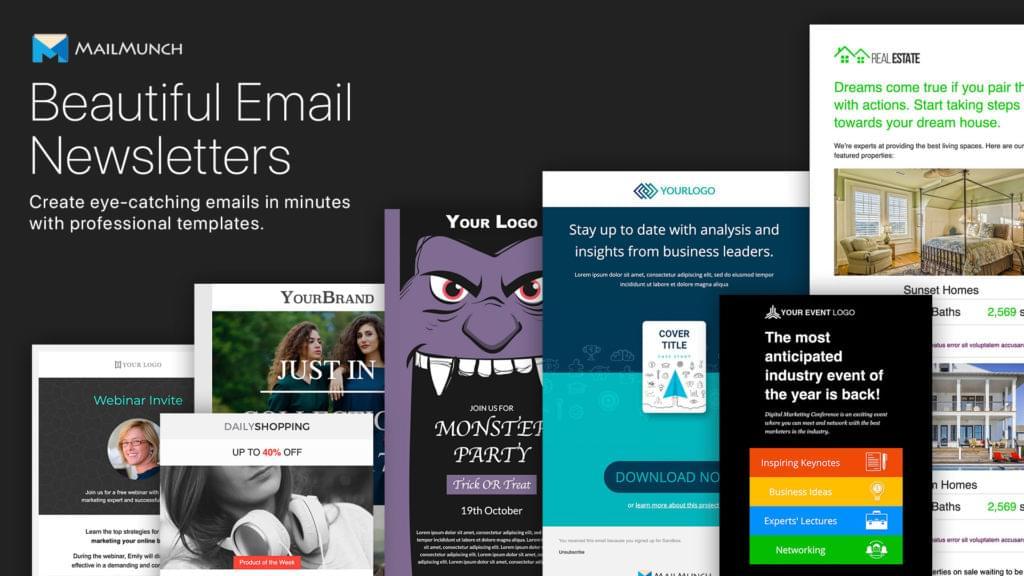 MailMunch Newsletter Templates