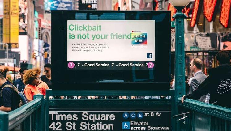 Clickbait is not your friend