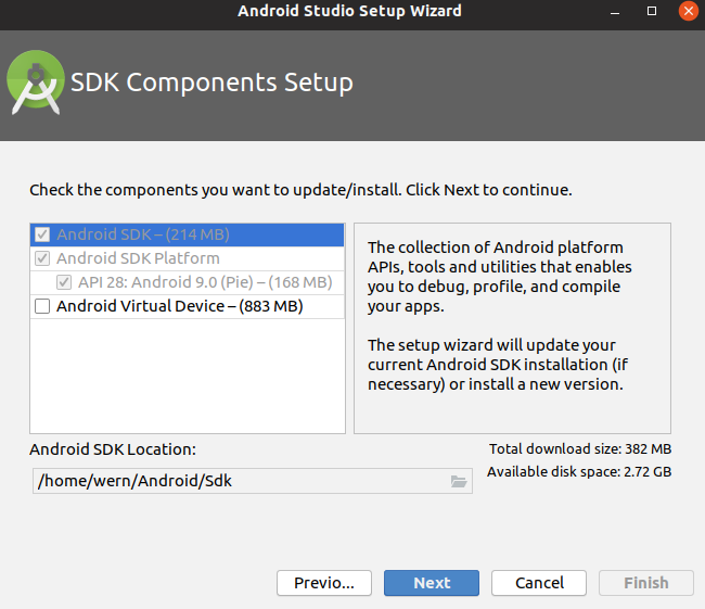 Android Studio APIs
