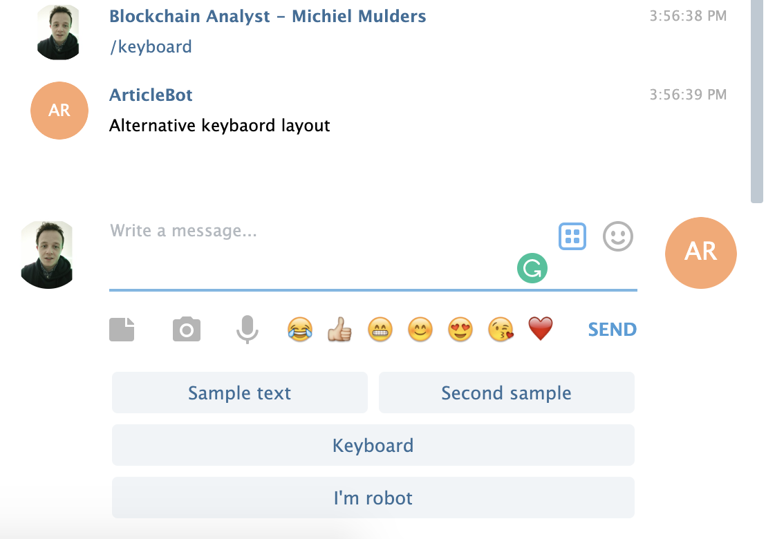 , How to Build Your First Telegram Chatbot with Node.js — SitePoint, Rojak WP