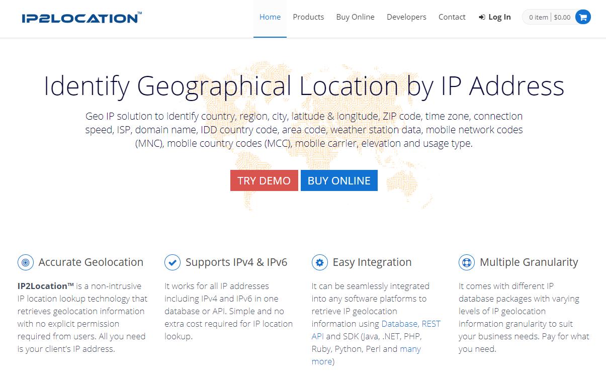 ip2location website