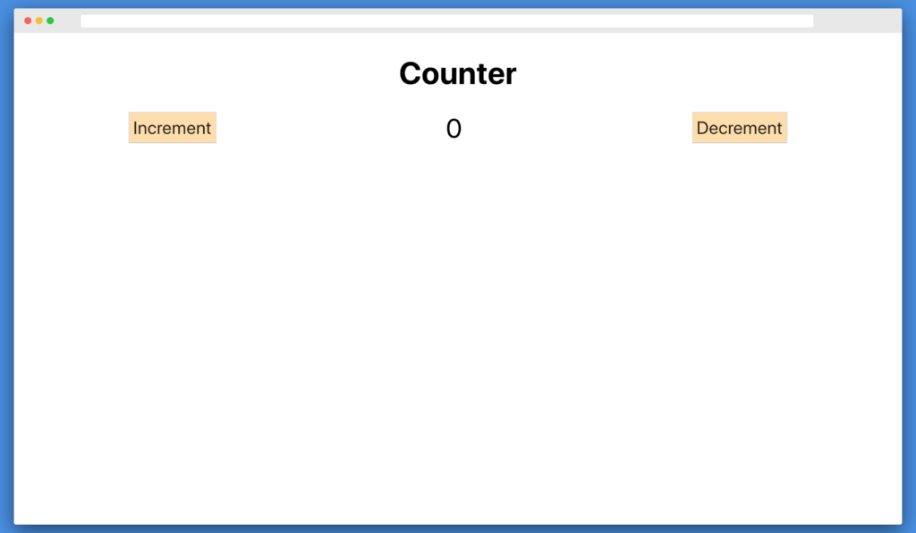 React Counter