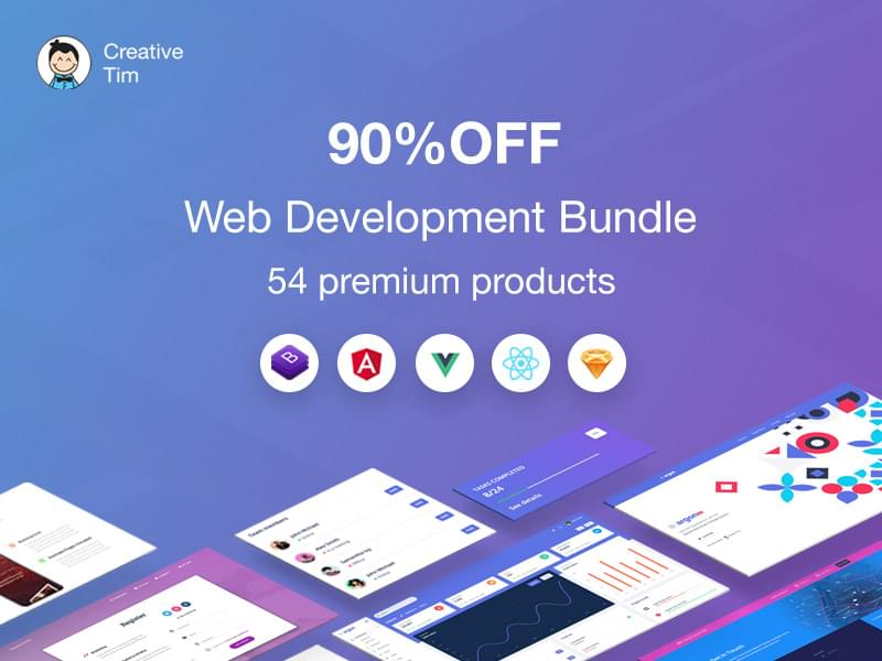 Creative Tim web dev bundle