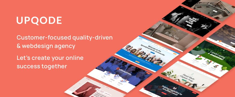 UPQODE website