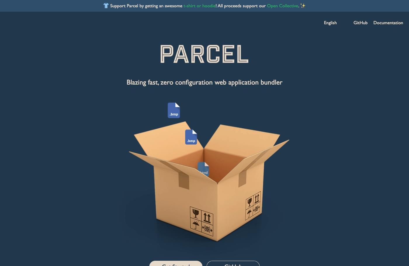Parcel - Start New Projects Faster