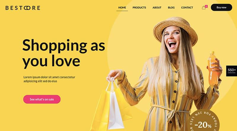 BeStore fashion theme