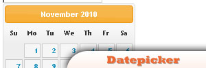 jQuery-Datepicker
