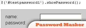 jQuery-Password