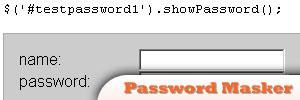 jQuery-Password