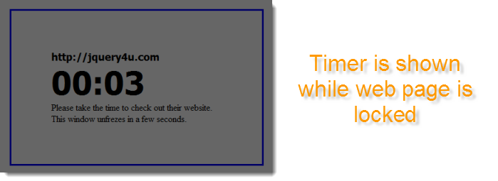webpage-timer-show