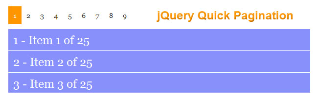 jquery-quick-pagination