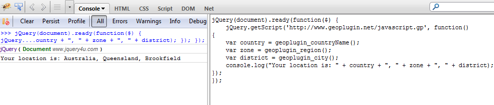 Get Geo Location with 2 lines of JavaScript — SitePoint