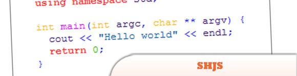 SHJS - Syntax Highlighting in JavaScript