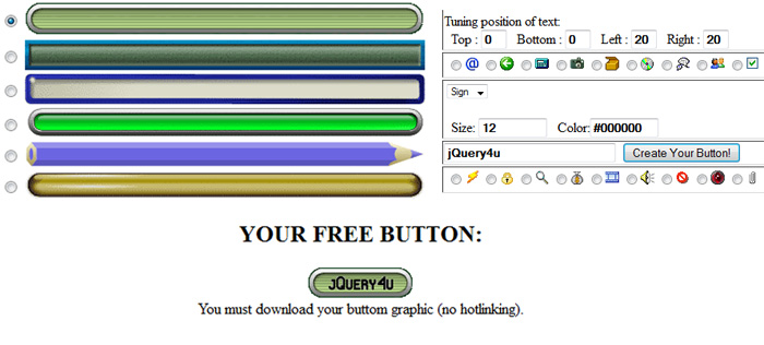 Web 2.0 Button Maker