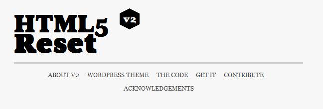 html-reset