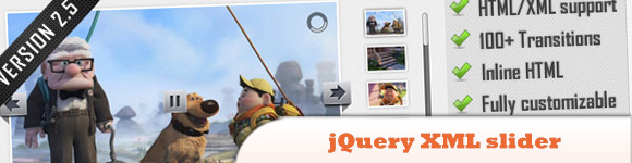 Advanced Slider - jQuery XML slider