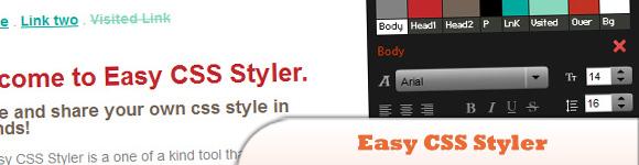 Easy CSS Styler