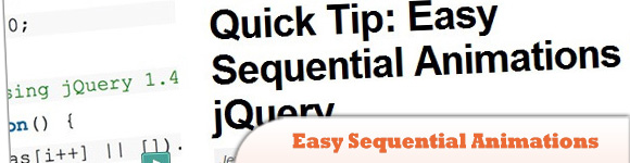 Easy Sequential Animations in jQuery