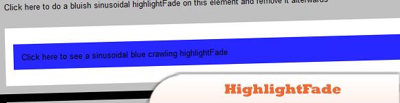 HighlightFade
