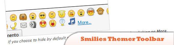 Smilies Themer Toolbar