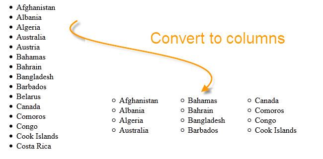 convert-to-columns
