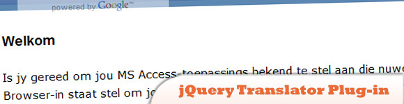 jQuery Translator Plug-in