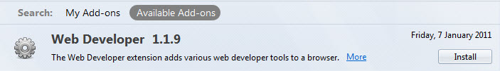 webdeveloper-toolbar