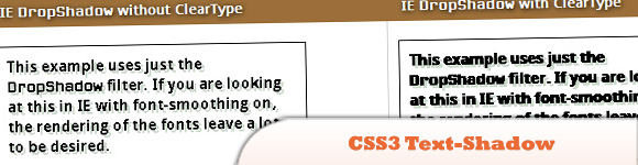 CSS3 Text-Shadow