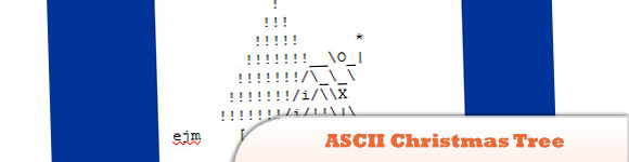 Create ASCII Christmas Tree Animation Using JavaScript