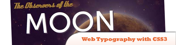 Web Typography with CSS3 and Lettering.js