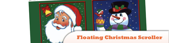 Create a Floating Christmas Scroller with JavaScript