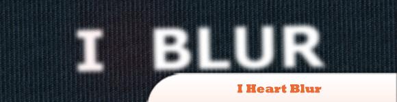 I Heart Blur