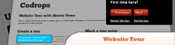 Website Tour with jQuery